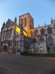 York Minster at twilight